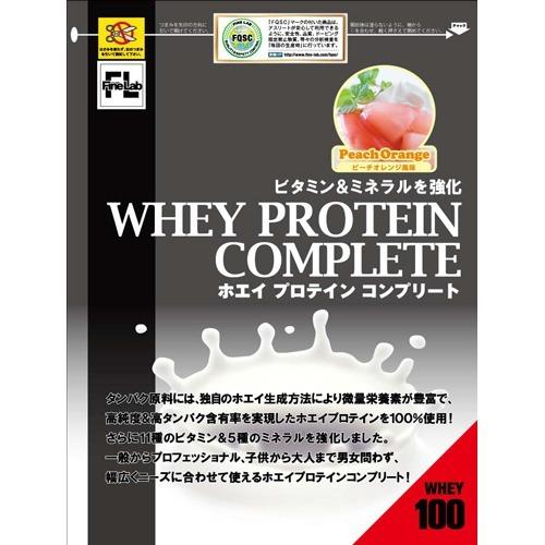 【通販限定/新品/取寄品/代引不可】ファインラボ ホエイプロテインコンプリート ピーチオレンジ風味 3kg