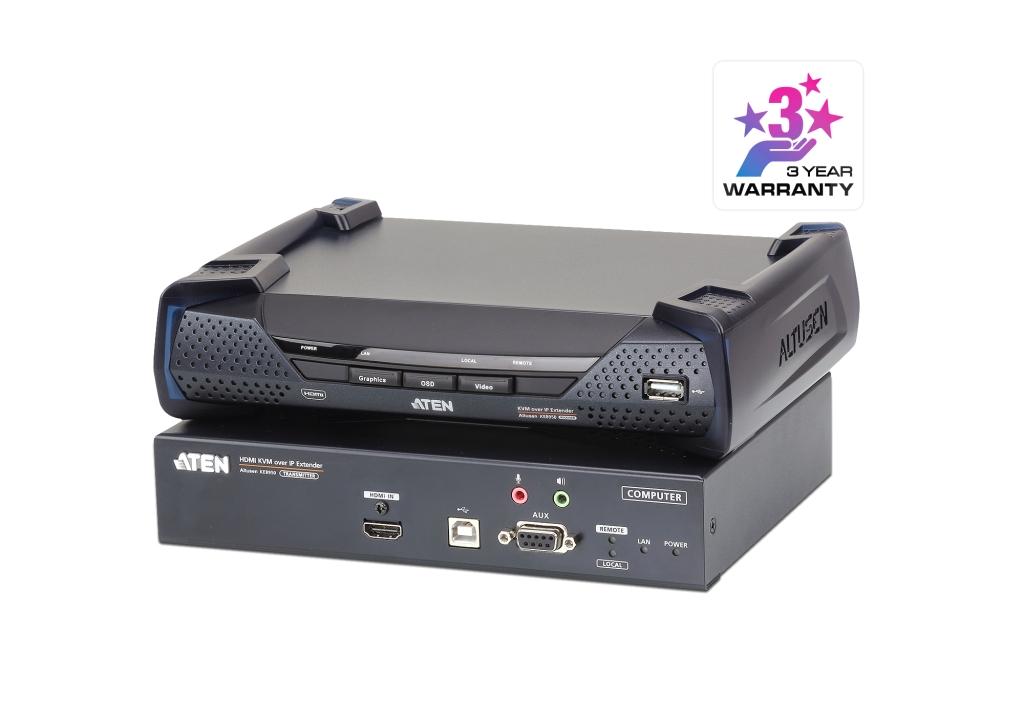 【新品/取寄品/代引不可】HDMIシングルディスプレイIP-KVMエクステンダー(4K対応) KE8950/ATEN