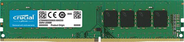 【新品/取寄品/代引不可】16GB DDR4 2666 MT/s (PC4-21300) CL19 DR x8 Unbuffered DIMM 288pin CT16G4DFD8266