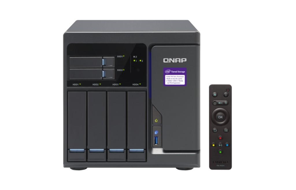 【新品/取寄品/代引不可】TVS-682-i3-8G 12TBモデルタワー型NAS ミドルクラスHDD3TBx4個搭載 TVS-682/12TB-A
