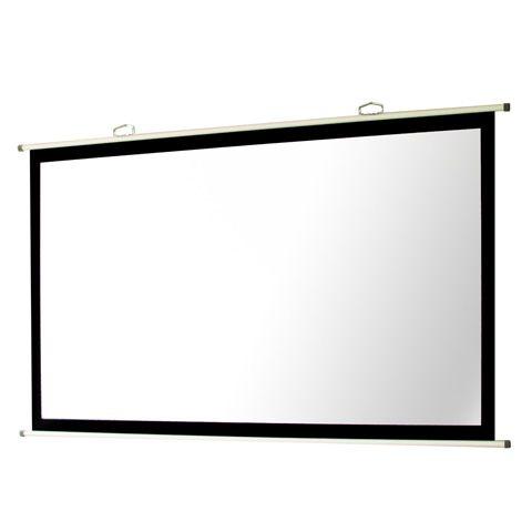 [送料はご注文後にご案内] 【新品/取寄品/代引不可】マスク付き掛図スクリーン SMH-100HM-WG107 (100インチ黒マスクタイプ)