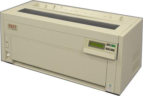 【新品/取寄品/代引不可】5577シリーズ シリアルドットインパクトプリンタ 5577-K05-W QR9076
