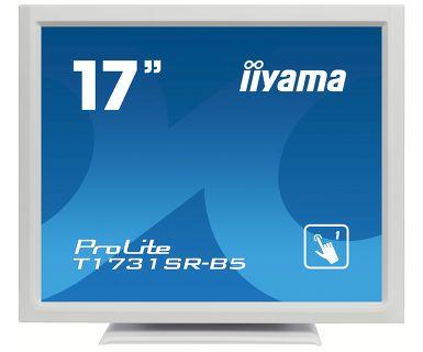 新品 取寄品 記念日 代引不可 国際ブランド ProLite T1731SR-5 17インチ抵抗膜方式 白 T1731SR-W5
