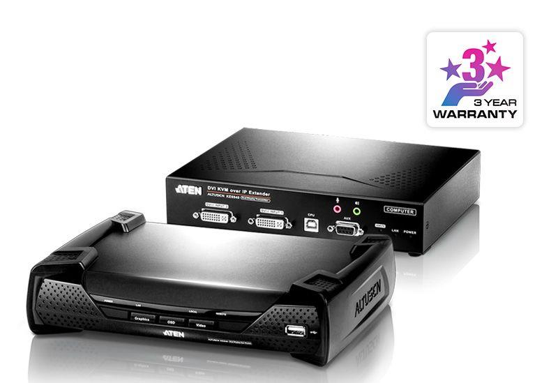 【新品/取寄品/代引不可】DVI対応 IP-KVMエクステンダー KE6940/ATEN