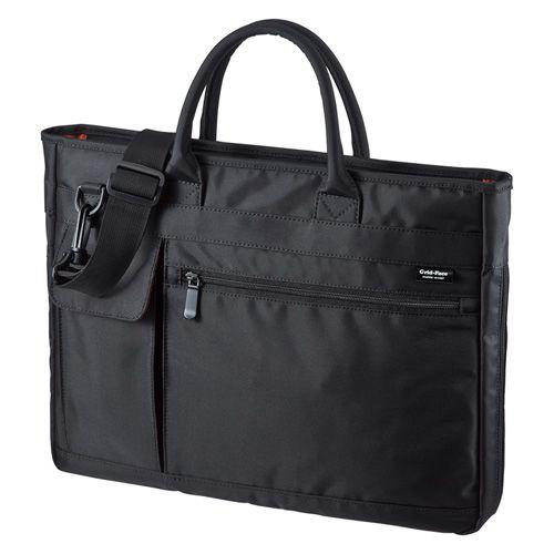 【新品/取寄品/代引不可】ビジカジPCバッグ ブラック BAG-GF8BK