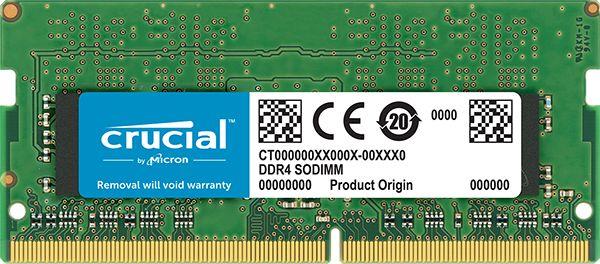 【新品/取寄品/代引不可】16GB DDR4 2400 MT/s (PC4-19200) CL17 DR x8 Unbuffered SODIMM 260pin CT16G4SFD824A