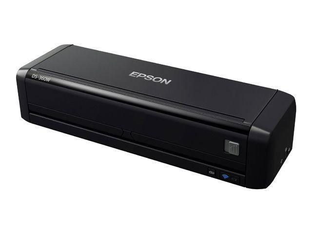 【新品/取寄品/代引不可】A4コンパクトシートフィードスキャナー DS-360W