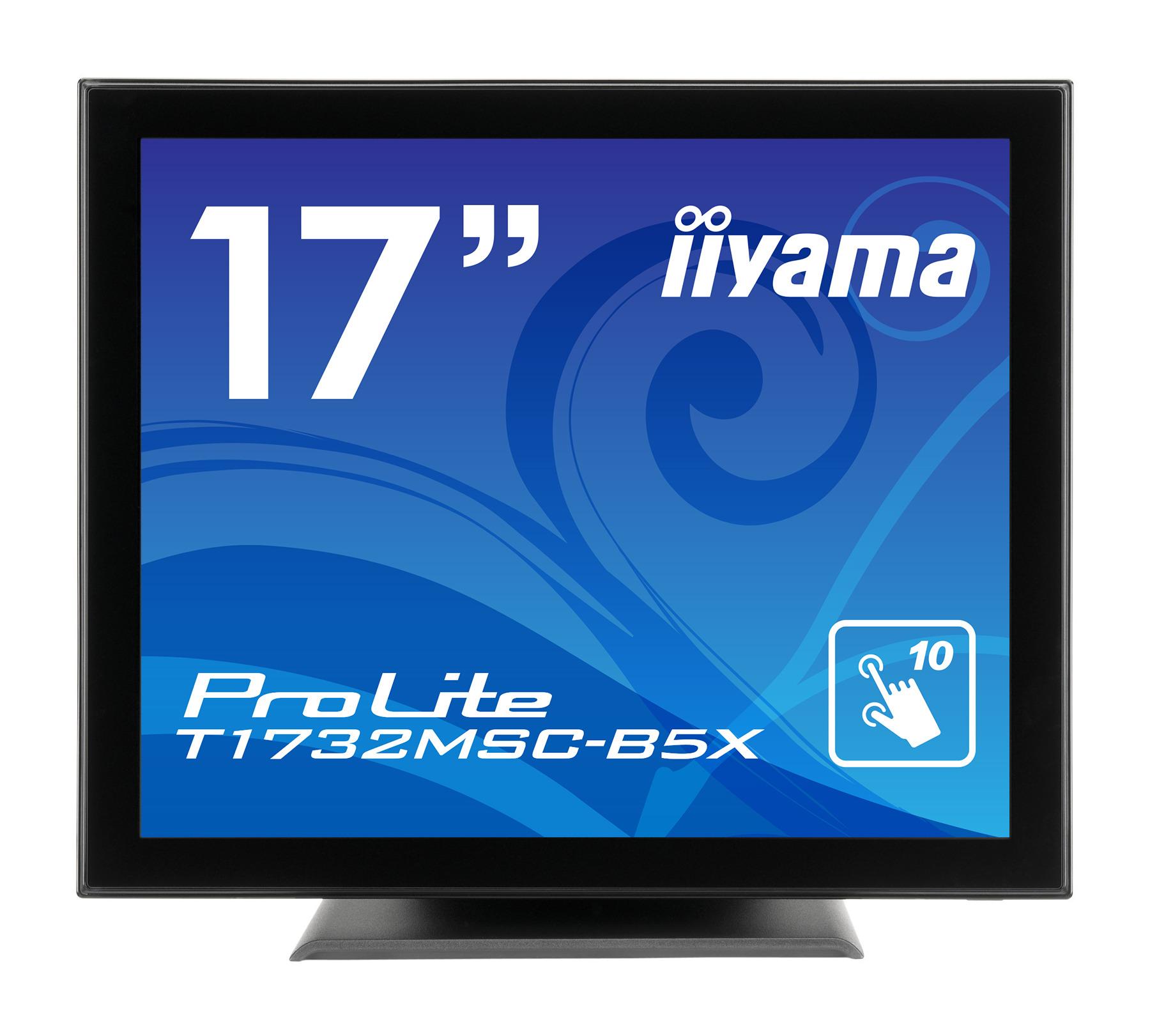【新品/取寄品/代引不可】17型タッチパネル液晶ディスプレイ ProLite T1732MSC-B5X(投影型静電容量方式/SXGA/D-SUB/HDMI/DP) マーベルブラック T1732MSC-B5X