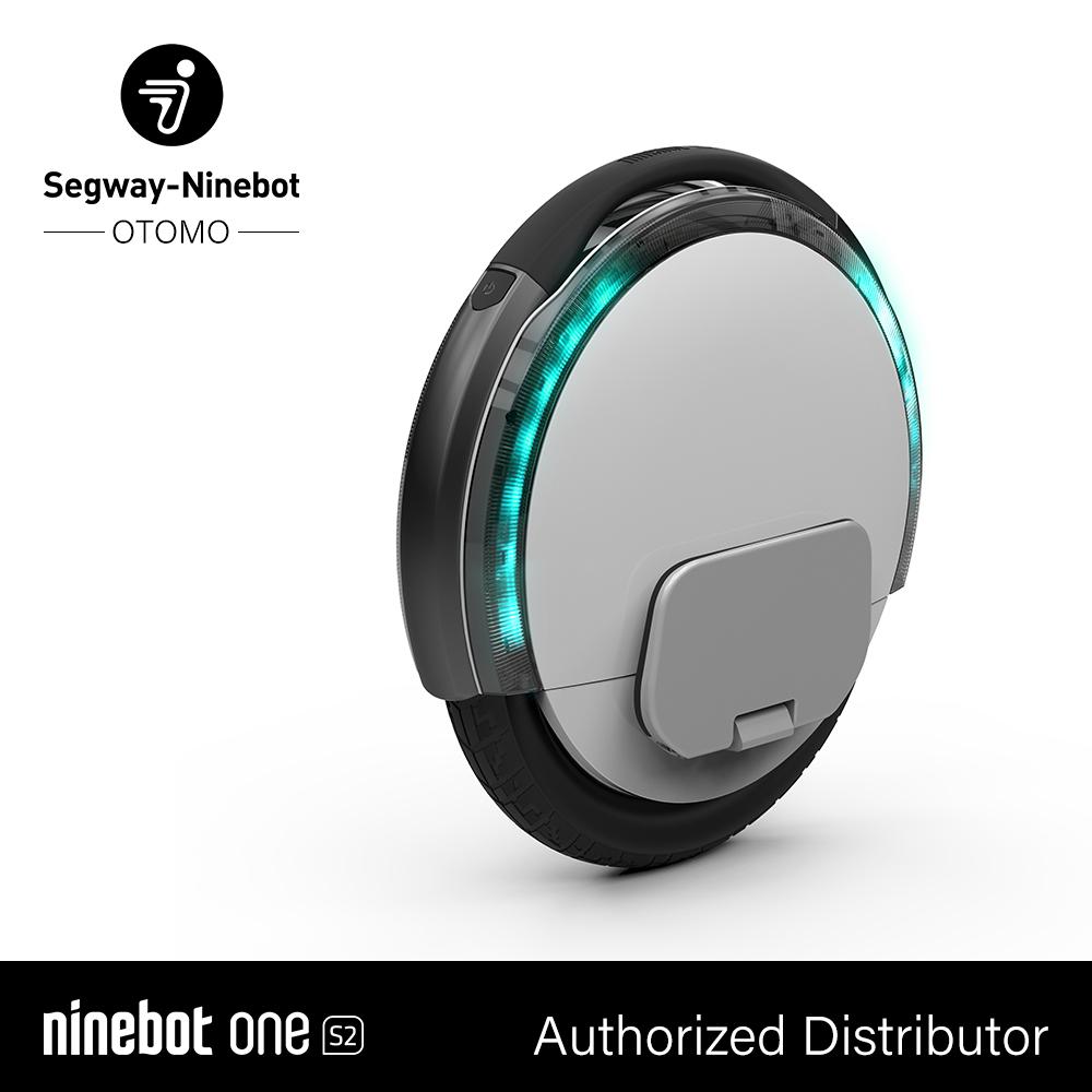 【新品/取寄品/代引不可】Ninebot One S2 ホワイト 33139 パーソナルモビリティ 次世代乗り物 セグウェイ式車両  ナインボット【北海道・沖縄・離島配送不可】