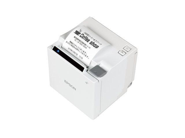 【新品/取寄品/代引不可】サーマルレシートプリンター TM-m10(58mm幅/Bluetooth/ホワイト) TM10UB611
