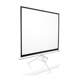 【新品/取寄品】プロジェクタースクリーン トリポッド 113インチ(1:1) マックスホワイト素材 ホワイトケース T113NWS1