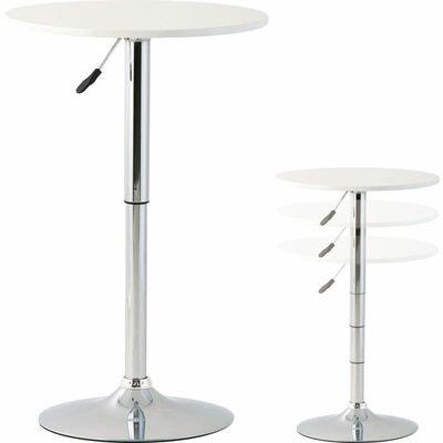 【新品/取寄品/代引不可】高梨産業 ティーテーブル(ホワイト) RD-T1052