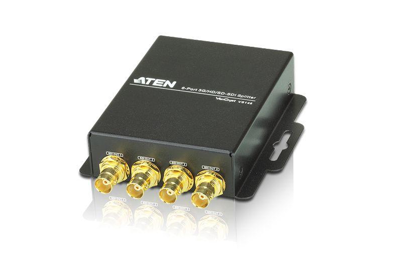 【新品/取寄品/代引不可】6ポート3G/HD/SD-SDI分配器 VS146/ATEN