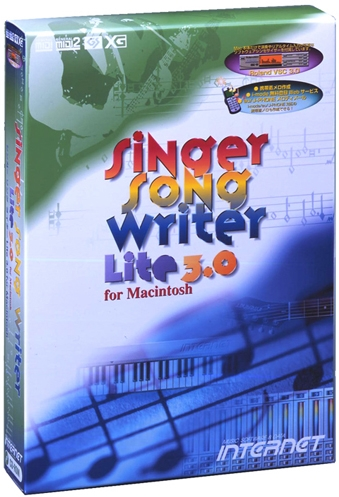 【新品/取寄品/代引不可】SINGER SONG WRITER LITE 3.0 FOR MACINTOSH アカデミック版 SSWLT30M-AC