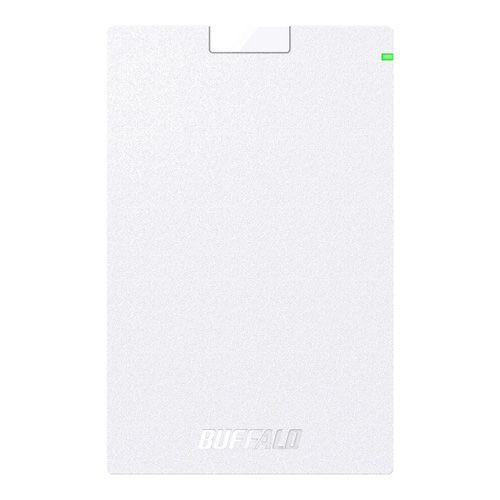 【新品/取寄品/代引不可】USB3.1(Gen.1)対応 ポータブルHDD スタンダードモデル ホワイト 2TB HD-PCG2.0U3-GWA