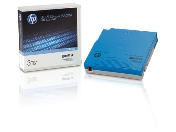 【新品/取寄品/代引不可】HP LTO5 Ultrium 3TB WORM データカートリッジ C7975W