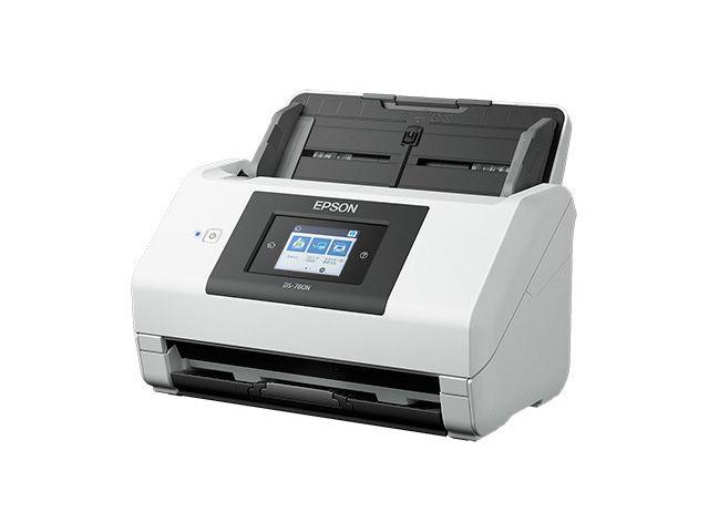 【新品/取寄品/代引不可】A4シートフィードスキャナー DS-780N(600dpix600dpi/両面同時読み取り) DS-780N