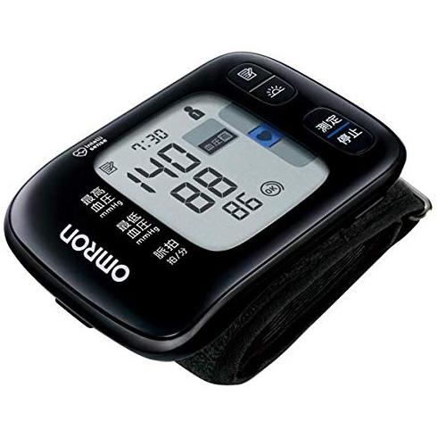 【新品/取寄品】オムロン 手首式血圧計 HEM-6232T [黒]