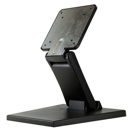 【新品/取寄品/代引不可】低重心無段階角度調整式モニター用自立スタンド STD_001