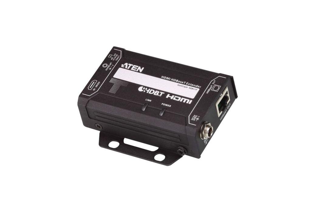 【新品/取寄品/代引不可】HDMIツイストペアケーブルトランスミッター(4K対応) VE811T/ATEN