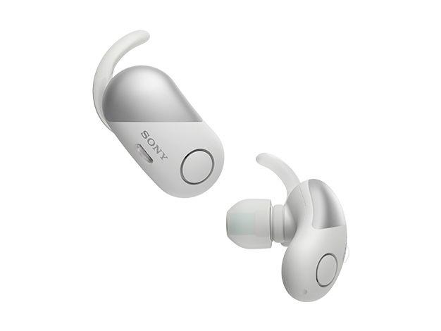 【新品/在庫あり】WF-SP700N-W ホワイト ワイヤレスノイズキャンセリングステレオヘッドセット