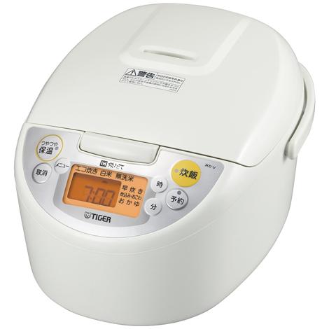 【新品/在庫あり】タイガー IH炊飯ジャー 炊きたて JKD-V100-W ホワイト (5.5合炊き)