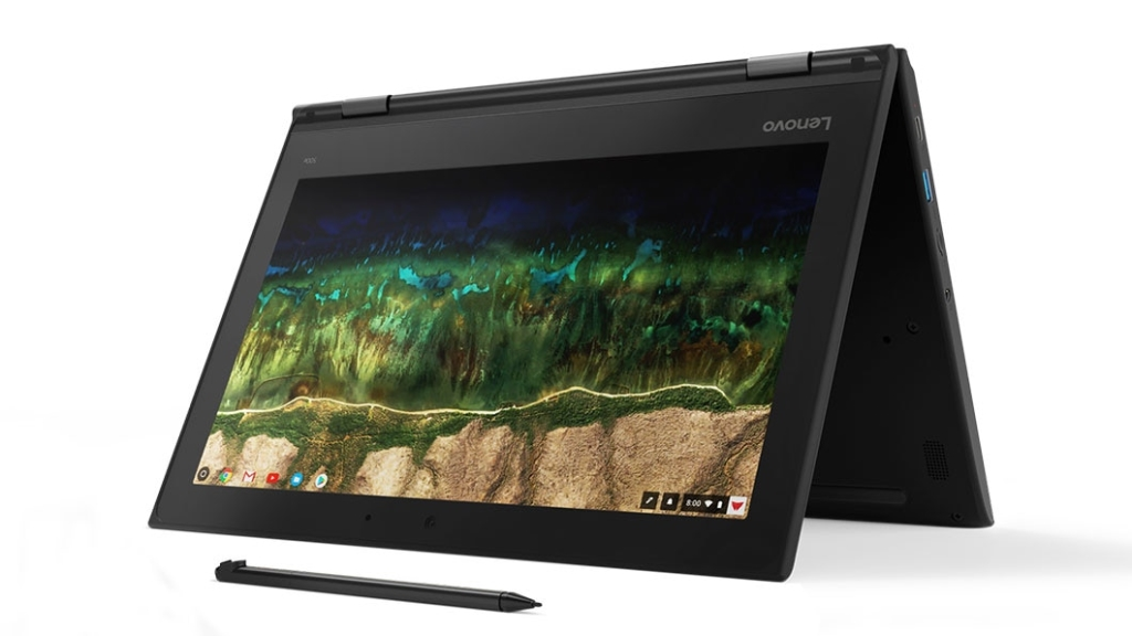 【新品/取寄品/代引不可】Lenovo 500e Chromebook(11.6型ワイド/N4100/4GB/32GB/Chrome OS) 81MC000DJP