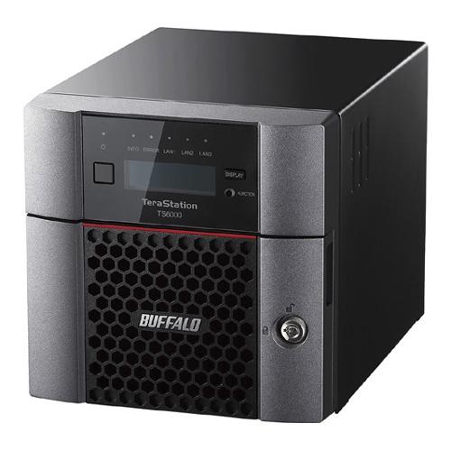 【新品/取寄品/代引不可】TeraStation TS6000シリーズ 2ベイ デスクトップ 2TB TS6200DN0202
