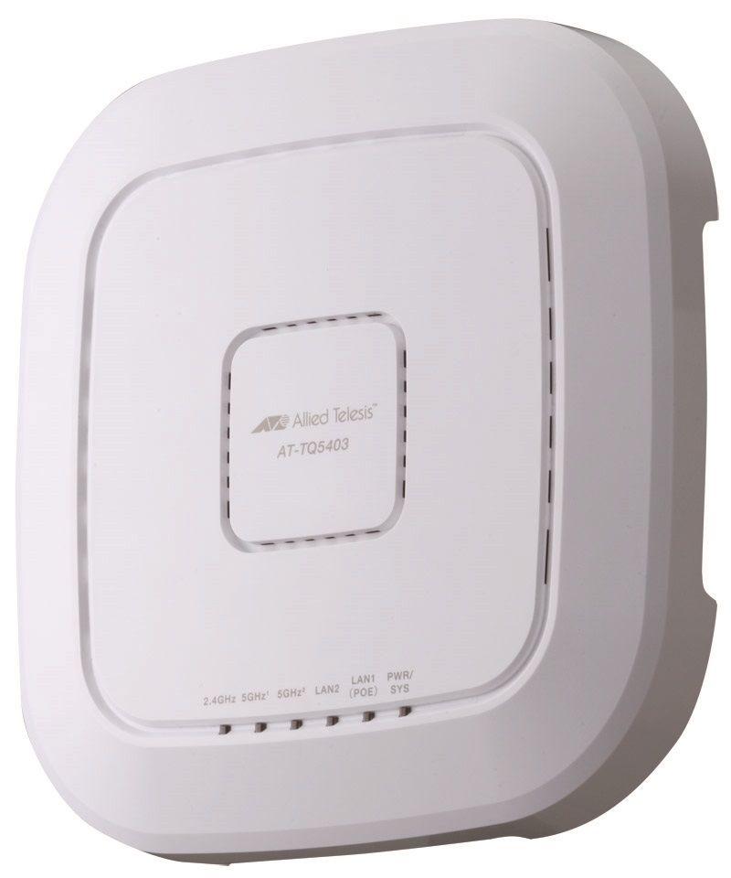 【新品/取寄品/代引不可】AT-TQ5403 [IEEE802.11a/b/g/n/ac対応 無線LANアクセスポイント、10/100/1000BASE-Tx1、10/100/1000BASE-T(PoE-IN)x1] 3806R