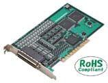 【新品/取寄品/代引不可】PCI対応 高速ラインドライバ出力8軸モーションコントロールボード SMC-8DL-PCI