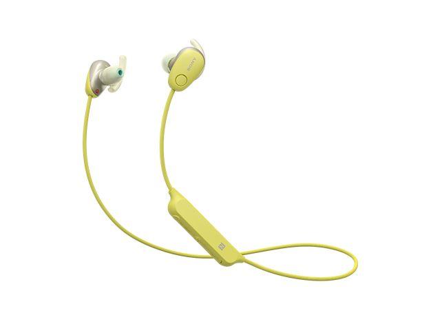 【新品/取寄品/代引不可】WI-SP600N-Y(イエロー) ワイヤレスノイズキャンセリングステレオヘッドセット