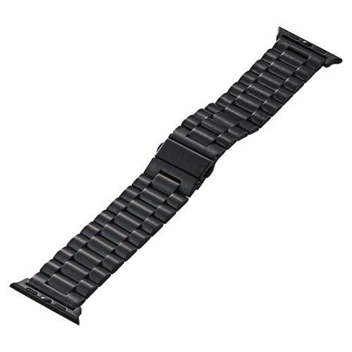 【新品/取寄品/代引不可】Apple Watch 42mm/ステンレスバンド/3連タイプ/ブラック AW-42BDSS3BK