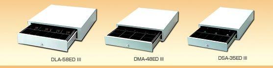 【新品/取寄品/代引不可】業務用小型プリンタ用 小型キャッシュドロワ(3札5コイン) DSA-35ED3