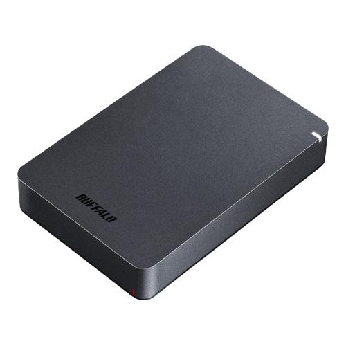 【新品/取寄品】USB3.1(Gen.1)対応 耐衝撃ポータブルHDD 4TB ブラック HD-PGF4.0U3-GBKA
