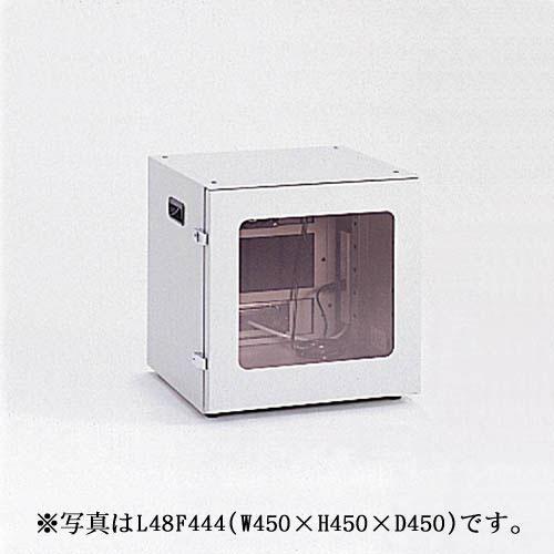 【新品/取寄品/代引不可】FA防塵パソコンロッカー 幅450mm L48F467