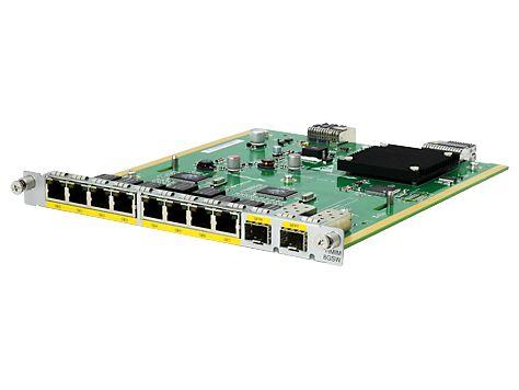【新品/取寄品/代引不可】HP MSR 8port BASE-T/2port Combo Switch HMIM Module JG741A