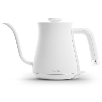 【新品/取寄品】BALMUDA ステンレス製 電気ケトル The Pot K02A-WH [ホワイト] (600ml)