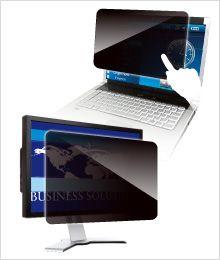 【新品/取寄品/代引不可】覗き見防止フィルター Looknon N8 デスクトップ用23.8インチ(16:9) LNW-238N8