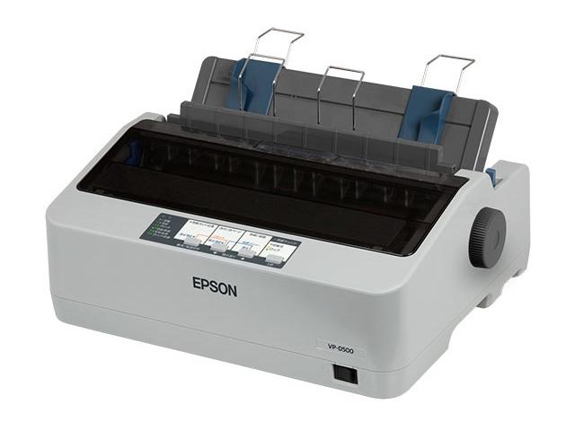 【新品/取寄品/代引不可】ドットインパクトプリンター ラウンド型モデル VP-D500