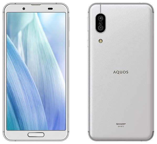 【新品/在庫あり】AQUOS sense3 SH-M12 SIMフリー [シルバーホワイト] スマートフォン