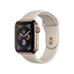 【新品/在庫あり】Apple Watch Series 4 GPS+Cellularモデル 44mm MTX42J/A [ゴールドステンレススチールケース/ストーンスポーツバンド]