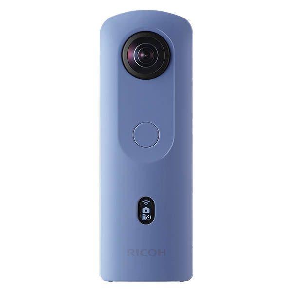 【新品/取寄品/代引不可】全天球カメラ RICOH THETA SC2 ブルー THETA SC2 BLUE