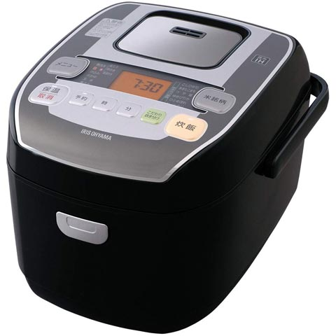 【新品/取寄品/代引不可】アイリス オーヤマ 圧力IHジャー炊飯器 米屋の旨み 銘柄炊き RC-PA50-B [5.5合炊き]