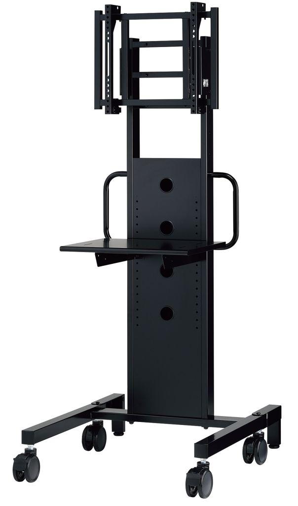 【新品/取寄品/代引不可】ディスプレイスタンド(ブラック/小・中型用/~42型くらいまで) PH-B813