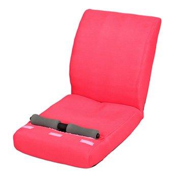 【新品/取寄品】purefit ピュアフィット 腹筋らくらく座椅子 PF2500 ピンク