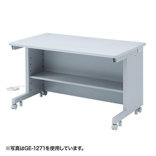 [送料はご注文後にご案内] 【新品/取寄品/代引不可】GEデスク(W1200xD800) 平机タイプ GE-1281