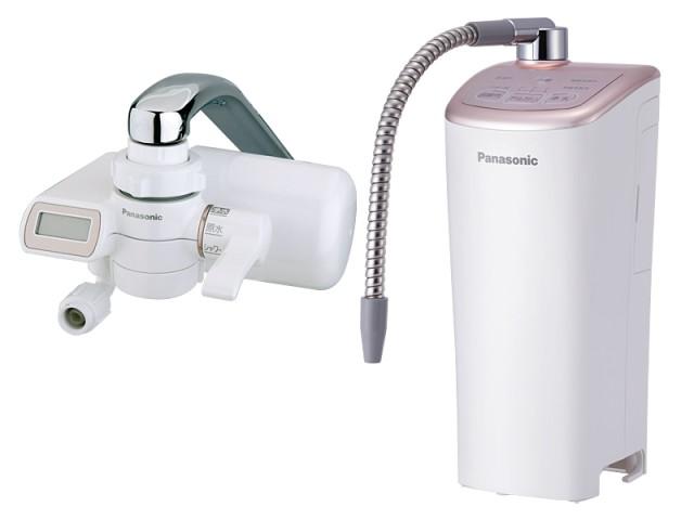 【新品/取寄品】パナソニック アルカリイオン整水器 せまい場所にもスッキリ置けるプチサイズ TK-AJ21-PN ピンクゴールド調