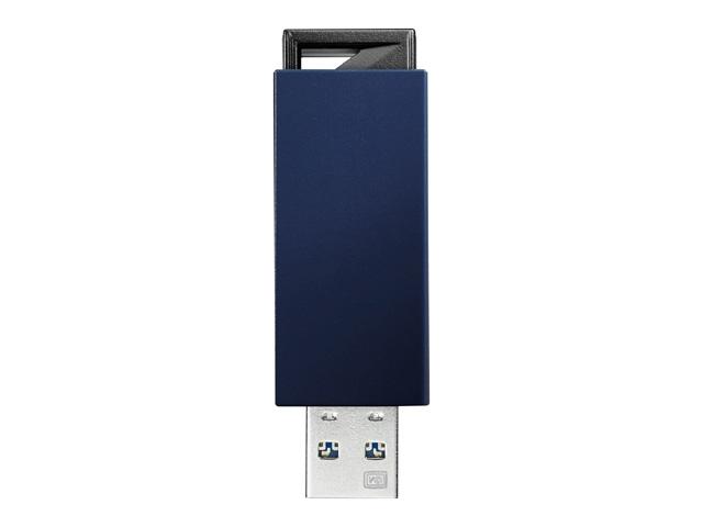 【新品/取寄品/代引不可】USB 3.1 Gen 1(USB 3.0)/2.0対応 USBメモリー 128GB ブルー U3-PSH128G/B