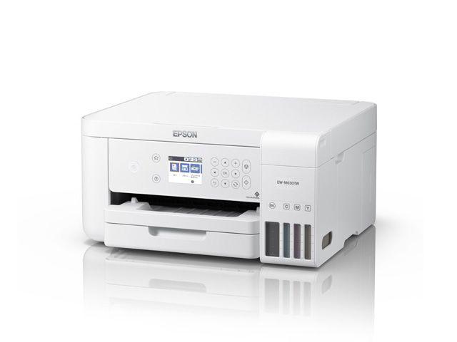 【新品/取寄品/代引不可】エコタンク搭載プリンター EW-M630TW(ホワイトモデル/A4カラー/コピー/スキャン/プリント/有線・無線LAN/4色) EW-M630TW