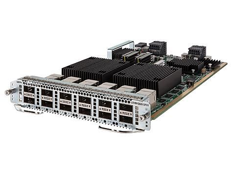 【新品/取寄品/代引不可】HP 7900 12port 40GbE QSFP+ FX Module JG683B